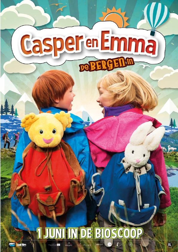 Casper en Emma: de Bergen in
