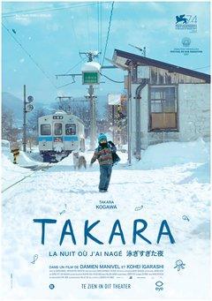 Takara, la nuit où j'ai nagé