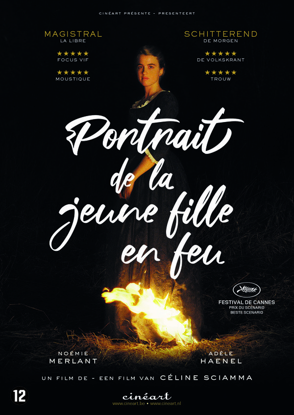 Portrait de la jeune fille en feu