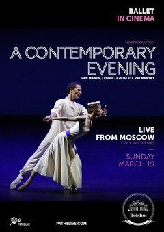 A Contemporary Evening (live ballet)