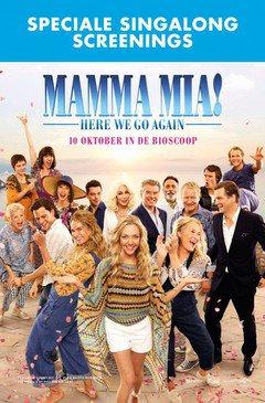 Mamma Mia! Here we go again – sing along
